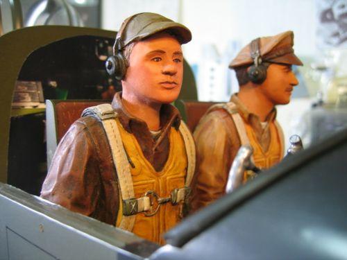 Copilot B.S. Yossarian & Pilot I.B.Narly