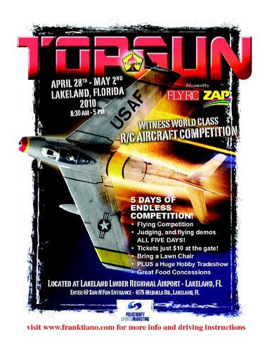 TopGun flyer 2010