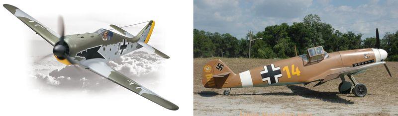 TF & FS planes