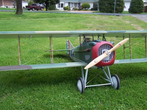 Spad XIII Lafayette Escadrille 001