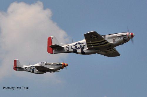 Scaleclassic P-51s